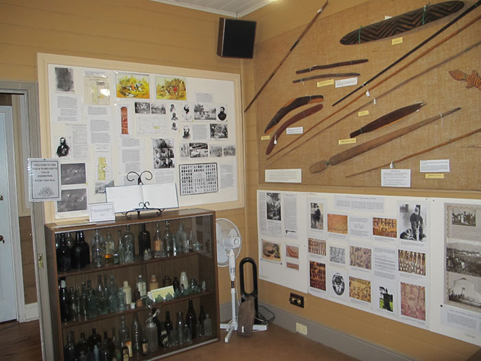 aboriginal section of museum