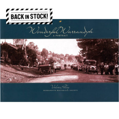 Wonderful-Warrandyte-back in stock