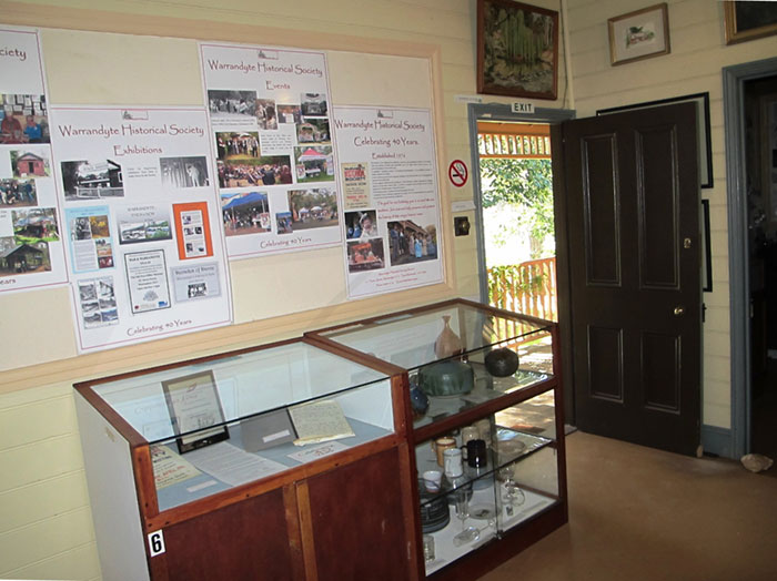 displays at warrandyte museum