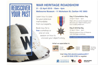 War Heritage Roadshow