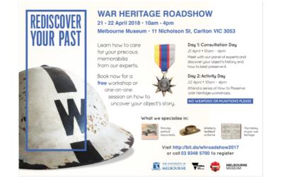 War Heritage Roadshow