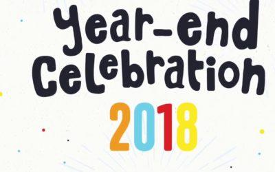 2018 End of Year Celebration – 9 December